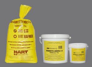 HART Keramik AG - Schamotte Mörtel