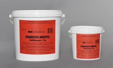 HART Keramik AG - Feuerfest Mörtel